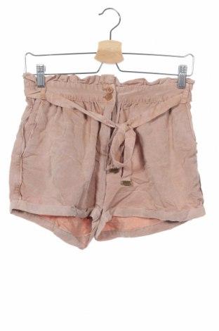 Γυναικείο κοντό παντελόνι Vero Moda, Μέγεθος XS, Χρώμα Καφέ, 78% βισκόζη, 22% πολυεστέρας, Τιμή 12,15€