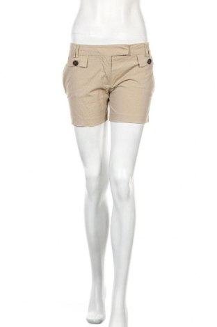 Γυναικείο κοντό παντελόνι Zara, Μέγεθος S, Χρώμα  Μπέζ, 98% βαμβάκι, 2% ελαστάνη, Τιμή 13,46€