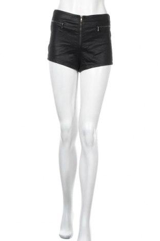 Дамски къс панталон Zebra, Размер S, Цвят Черен, 65% памук, 30% полиестер, 5% еластан, Цена 11,34лв.