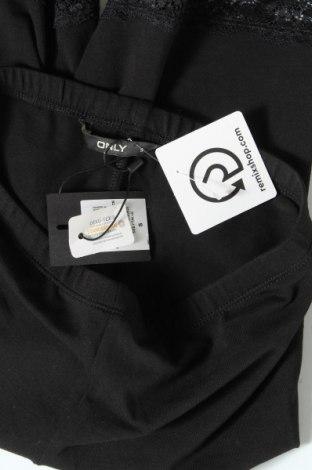 Дамски клин ONLY, Размер S, Цвят Черен, 95% памук, 5% еластан, Цена 17,55лв.