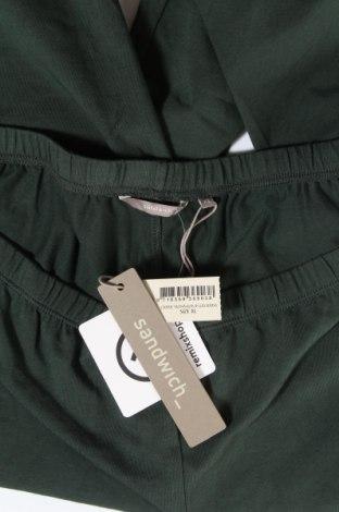 Дамски клин Sandwich_, Размер XL, Цвят Зелен, 94% памук, 6% еластан, Цена 13,72лв.