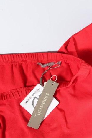 Дамски клин Sandwich_, Размер S, Цвят Червен, 94% памук, 6% еластан, Цена 12,25лв.