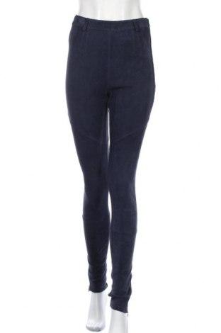 Γυναικείο παντελόνι δερμάτινο J.Lindeberg, Μέγεθος S, Χρώμα Μπλέ, Φυσικό σουέτ, Τιμή 34,56€