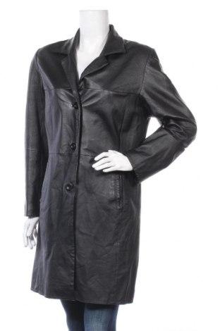 Дамско кожено яке Fabiani, Размер M, Цвят Черен, Естествена кожа, Цена 67,73лв.