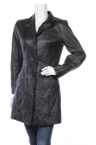 Дамско кожено яке Joy, Размер S, Цвят Черен, Естествена кожа, Цена 22,58лв.