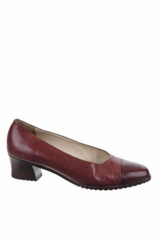 Дамски обувки Bally, Размер 40, Цвят Червен, Естествена кожа, Цена 129,00лв.