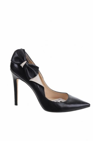 Γυναικεία παπούτσια Elisabetta Franchi, Μέγεθος 38, Χρώμα Μαύρο, Γνήσιο δέρμα, Τιμή 81,40€