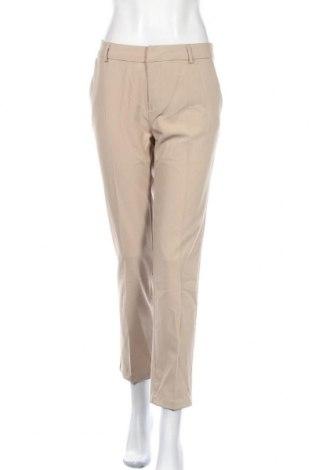 Дамски панталон Active Basic USA, Размер L, Цвят Бежов, 80% полиестер, 15% памук, 5% еластан, Цена 15,34лв.
