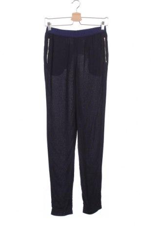 Дамски панталон American Vintage, Размер XS, Цвят Син, Вискоза, Цена 25,99лв.