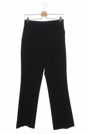 Дамски панталон Armani Exchange, Размер XS, Цвят Черен, 53% полиестер, 43% вълна, 4% еластан, Цена 23,20лв.