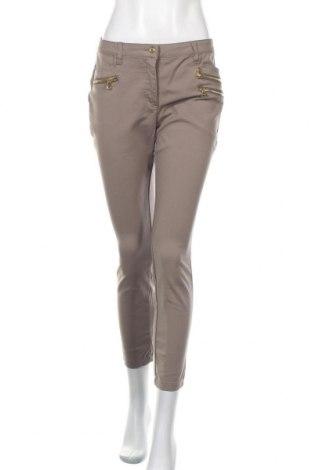 Дамски панталон Ashley Brooke, Размер M, Цвят Бежов, Цена 11,81лв.