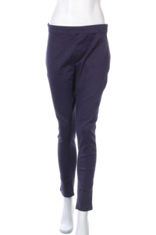 Дамски панталон Be You, Размер XL, Цвят Син, 98% памук, 2% еластан, Цена 24,08лв.