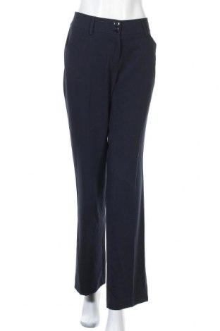 Дамски панталон Biaggini, Размер L, Цвят Син, 72% полиестер, 23% вискоза, Цена 25,94лв.