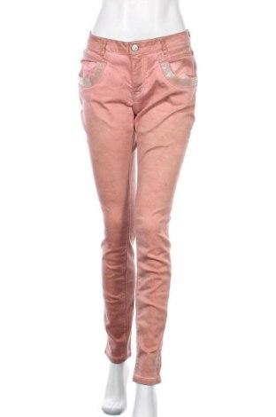 Γυναικείο παντελόνι Buena Vista, Μέγεθος M, Χρώμα Ρόζ , 89% βαμβάκι, 9% πολυεστέρας, 2% ελαστάνη, Τιμή 10,91€