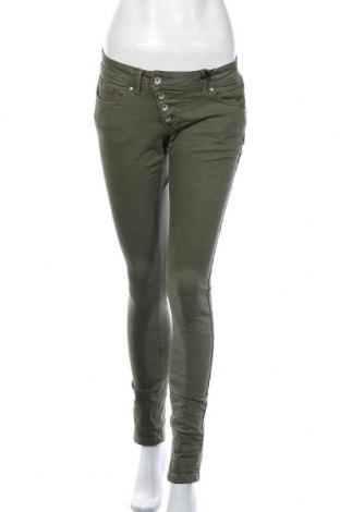 Дамски дънки Buena Vista, Размер XS, Цвят Зелен, 98% памук, 32% еластан, Цена 19,32лв.