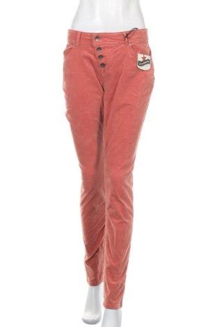 Γυναικείο παντελόνι Buena Vista, Μέγεθος L, Χρώμα Κόκκινο, 98% βαμβάκι, 2% ελαστάνη, Τιμή 10,18€