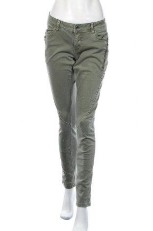 Дамски дънки Buena Vista, Размер M, Цвят Зелен, 85% памук, 12% полиестер, 3% еластан, Цена 28,80лв.