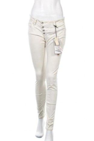 Γυναικείο παντελόνι Buena Vista, Μέγεθος S, Χρώμα  Μπέζ, 98% βαμβάκι, 2% ελαστάνη, Τιμή 8,89€