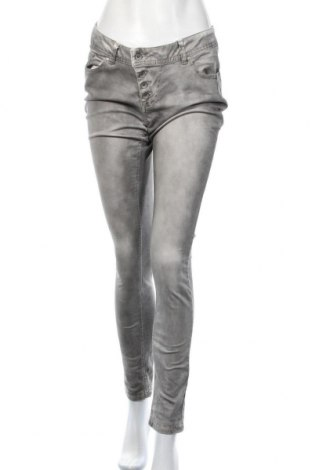 Γυναικείο παντελόνι Buena Vista, Μέγεθος M, Χρώμα Γκρί, 85% βαμβάκι, 12% πολυεστέρας, 3% ελαστάνη, Τιμή 14,55€