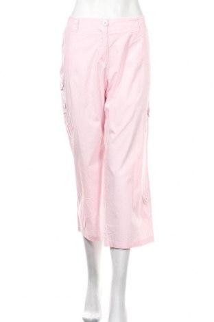 Дамски панталон Crazy World, Размер L, Цвят Розов, 100% памук, Цена 16,38лв.
