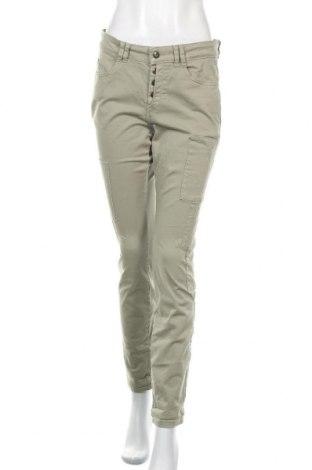 Γυναικείο παντελόνι Edc By Esprit, Μέγεθος M, Χρώμα Πράσινο, 97% βαμβάκι, 3% ελαστάνη, Τιμή 5,68€