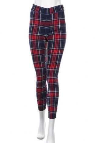 Дамски панталон Fb Sister, Размер S, Цвят Многоцветен, 75% вискоза, 15% полиестер, 7% полиамид, 3% еластан, Цена 26,04лв.