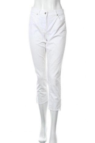 Дамски панталон G.W., Размер M, Цвят Бял, Цена 30,03лв.