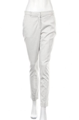 Дамски панталон H&M, Размер M, Цвят Сив, 67% полиестер, 31% вискоза, 2% еластан, Цена 22,52лв.