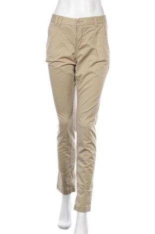 Дамски панталон H&M L.O.G.G., Размер M, Цвят Зелен, 98% памук, 2% еластан, Цена 15,12лв.