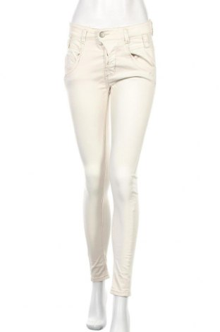 Дамски панталон Haily`s, Размер S, Цвят Екрю, 98% памук, 2% еластан, Цена 5,51лв.