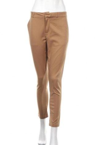Γυναικείο παντελόνι Laura Jo, Μέγεθος XL, Χρώμα Καφέ, 55% βαμβάκι, 42% πολυαμίδη, 3% ελαστάνη, Τιμή 7,60€
