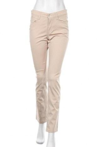 Дамски панталон Mac, Размер M, Цвят Бежов, 66% памук, 32% вискоза, 2% еластан, Цена 18,74лв.