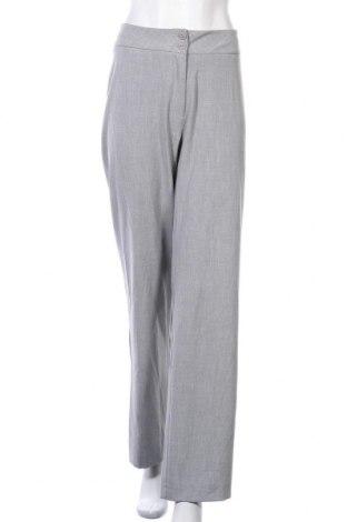 Γυναικείο παντελόνι Miss Etam, Μέγεθος XL, Χρώμα Γκρί, 62% πολυεστέρας, 33% βισκόζη, 5% ελαστάνη, Τιμή 6,37€