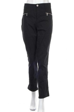 Дамски панталон Paprika, Размер XL, Цвят Черен, 72% памук, 24% полиамид, 4% еластан, Цена 21,00лв.