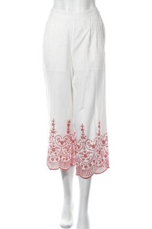 Дамски панталон Topshop, Размер XS, Цвят Екрю, Вискоза, Цена 22,31лв.