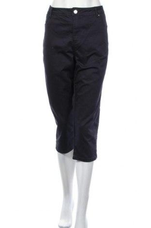 Дамски панталон Yessica, Размер XL, Цвят Син, 65% памук, 32% полиестер, 3% еластан, Цена 20,16лв.