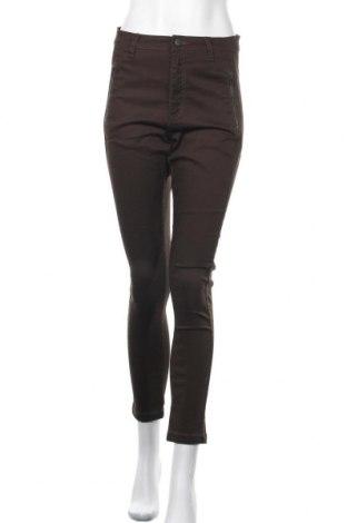 Дамски панталон Zavanna, Размер S, Цвят Зелен, 70% памук, 28% полиестер, 2% еластан, Цена 21,26лв.
