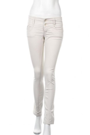 Дамски панталон Zebra, Размер S, Цвят Бежов, 95% памук, 5% еластан, Цена 21,26лв.