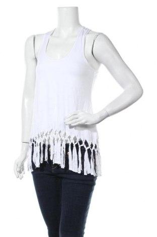 Γυναικείο αμάνικο μπλουζάκι About You, Μέγεθος M, Χρώμα Λευκό, 95% βισκόζη, 5% ελαστάνη, Τιμή 15,20€