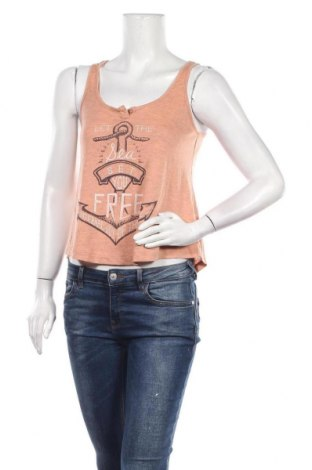 Γυναικείο αμάνικο μπλουζάκι Ardene, Μέγεθος S, Χρώμα Πορτοκαλί, Βισκόζη, Τιμή 3,64€