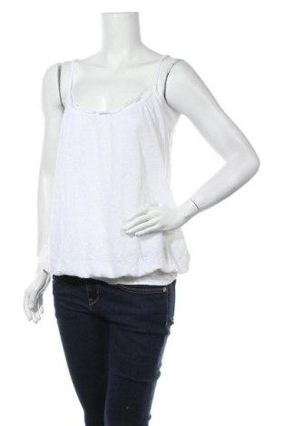 Γυναικείο αμάνικο μπλουζάκι Avant Premiere, Μέγεθος L, Χρώμα Λευκό, 100% λινό, Τιμή 9,25€