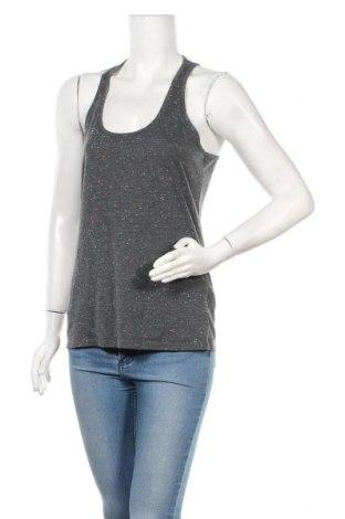 Γυναικείο αμάνικο μπλουζάκι Beach Time, Μέγεθος L, Χρώμα Γκρί, 65% πολυεστέρας, 35% βαμβάκι, Τιμή 9,09€