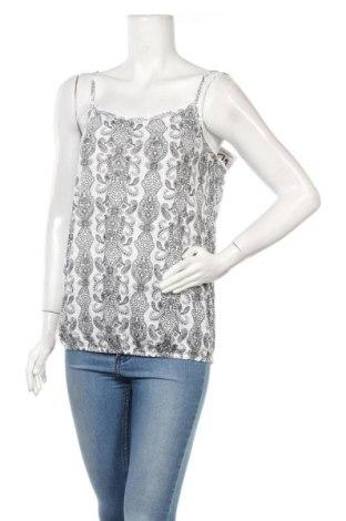 Γυναικείο αμάνικο μπλουζάκι Beach Time, Μέγεθος M, Χρώμα Λευκό, Βισκόζη, Τιμή 8,18€