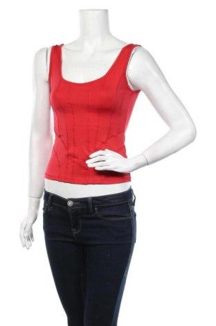 Γυναικείο αμάνικο μπλουζάκι Biba, Μέγεθος XS, Χρώμα Κόκκινο, 90% πολυαμίδη, 10% ελαστάνη, Τιμή 11,04€
