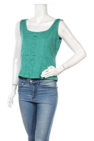Γυναικείο αμάνικο μπλουζάκι Biba, Μέγεθος M, Χρώμα Πράσινο, 90% πολυαμίδη, 10% ελαστάνη, Τιμή 13,64€