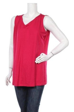 Γυναικείο αμάνικο μπλουζάκι Bonita, Μέγεθος XL, Χρώμα Ρόζ , 95% βισκόζη, 5% ελαστάνη, Τιμή 9,09€