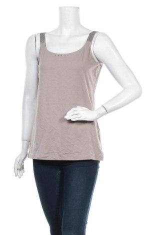 Γυναικείο αμάνικο μπλουζάκι Bonita, Μέγεθος M, Χρώμα Καφέ, Τιμή 8,44€