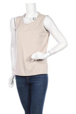 Γυναικείο αμάνικο μπλουζάκι Bonita, Μέγεθος L, Χρώμα  Μπέζ, 95% βισκόζη, 5% ελαστάνη, Τιμή 8,44€
