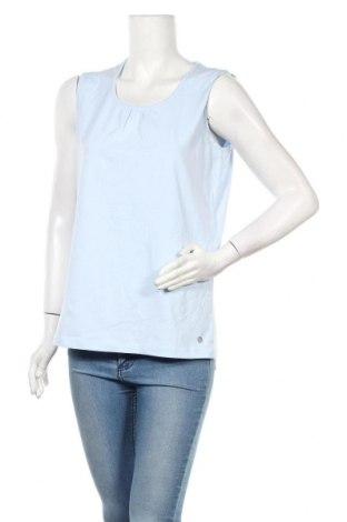 Γυναικείο αμάνικο μπλουζάκι Bonita, Μέγεθος L, Χρώμα Μπλέ, Τιμή 8,64€