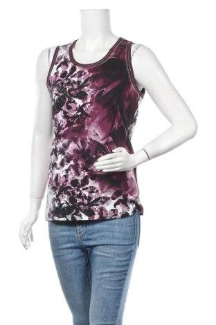 Γυναικείο αμάνικο μπλουζάκι Bonita, Μέγεθος M, Χρώμα Πολύχρωμο, 95% βαμβάκι, 5% ελαστάνη, Τιμή 9,25€